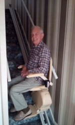 Castle Comfort Stairlifts Review by Roger Chapman