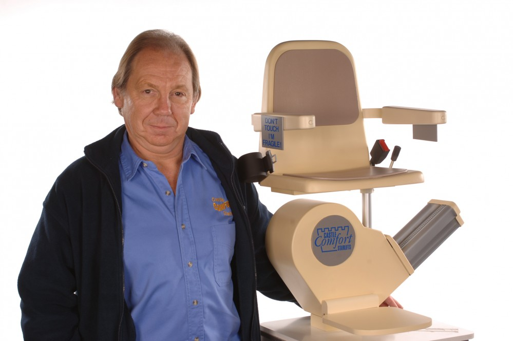 Keith Simpson - 'The Stairlift King'