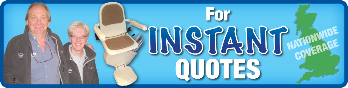 Call Castle Comfort Stairlifts for instant quotes