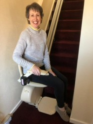 Castle Comfort Stairlifts Review by Angela Kaine