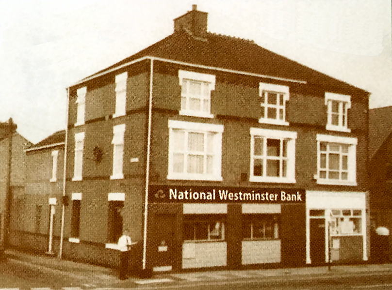 Keith bought the old NatWest branch in Wolstanton in 1997