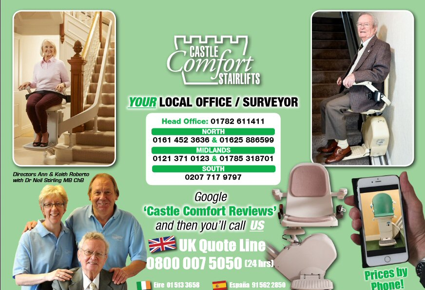 2020 Castle Comfort Stairlifts Calendar